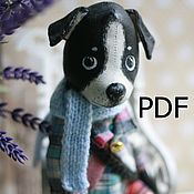 Материалы для творчества handmade. Livemaster - original item Pattern Dogs( apparel). Handmade.