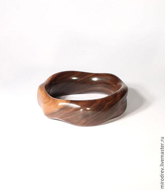 МироДрев, браслет из американского черного ореха