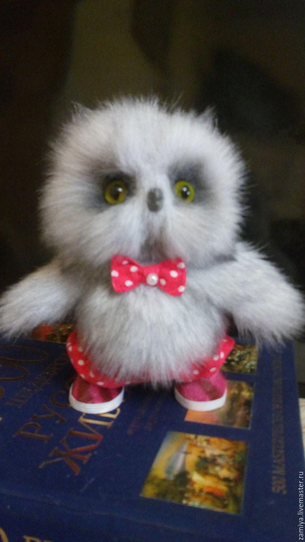 текстильная сова филин игрушка выкройка