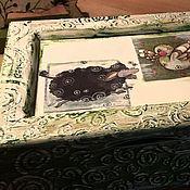 Для дома и интерьера ручной работы. Ярмарка Мастеров - ручная работа Шкатулка Барашек. Handmade.