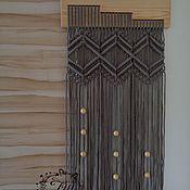 Картины и панно handmade. Livemaster - original item Panel macrame No. №20. Handmade.