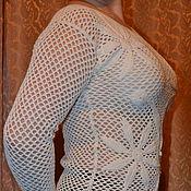 Одежда handmade. Livemaster - original item Summer cardigan crochet. Handmade.