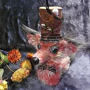 Куклы и игрушки ручной работы. Ярмарка Мастеров - ручная работа Лис Редмэн. Вязаная игрушка.. Handmade.
