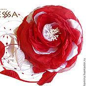 Свадебный салон ручной работы. Ярмарка Мастеров - ручная работа Цветок на свадебное платье. Handmade.