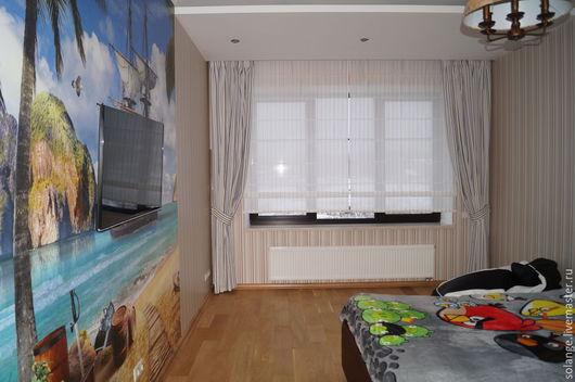 Текстиль, ковры ручной работы. Ярмарка Мастеров - ручная работа. Купить Детская комната в морском стиле. Handmade. Голубой