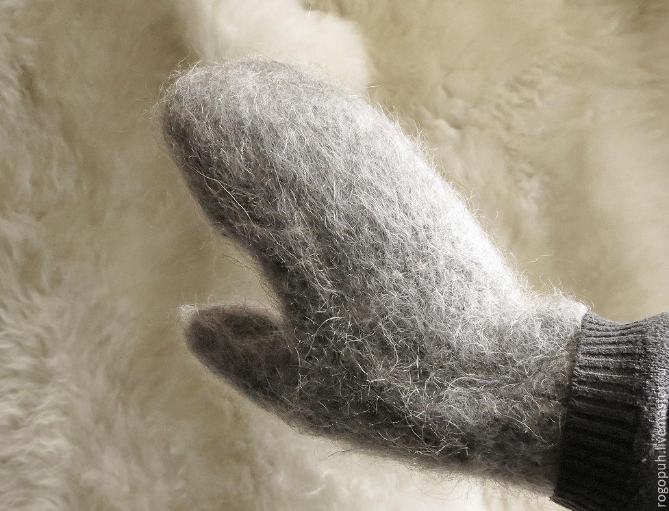Varezhki from goat hair, Mittens, Nalchik,  Фото №1