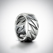 Украшения handmade. Livemaster - original item Rings:Silver Face. Handmade.