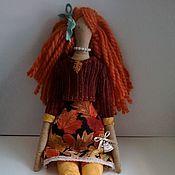 """Куклы и игрушки ручной работы. Ярмарка Мастеров - ручная работа Тильда """"Рыжинка"""". Handmade."""