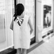 Одежда ручной работы. Ярмарка Мастеров - ручная работа Платье нуновойлочное с нежным принтом. Handmade.