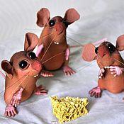 Куклы и игрушки handmade. Livemaster - original item Mousy. Handmade.