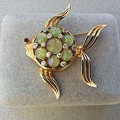 Винтаж handmade. Livemaster - original item Mazer Vintage brooch Fish 1940`s-n .1950`s.. Handmade.