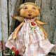 Ароматизированные куклы ручной работы. Луша.. Арина Бадьянова. Текстильные куклы. (badyanova). Ярмарка Мастеров. Подарок подруге, авторская кукла