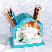 Канцелярские товары handmade. Livemaster - original item Pencil all his treasure))). Handmade.