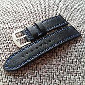 Аксессуары handmade. Livemaster - original item Watch straps leather 22mm. Handmade.