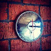 """Для дома и интерьера ручной работы. Ярмарка Мастеров - ручная работа Часы настенные """"Колесо времени"""". Handmade."""