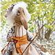 Коллекционные куклы ручной работы. Баба Яга. Авторская текстильная кукла. Анастасия Голенева. Ярмарка Мастеров. Интерьерная кукла