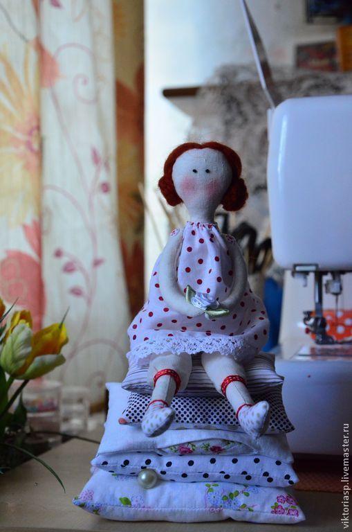 Куклы Тильды ручной работы. Ярмарка Мастеров - ручная работа. Купить Принцесса на горошине. Handmade. Кукла ручной работы