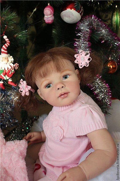 """Куклы-младенцы и reborn ручной работы. Ярмарка Мастеров - ручная работа. Купить Лолита из мастерской """"Лучик СВета"""". Handmade. Бежевый"""