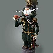 Куклы и игрушки ручной работы. Ярмарка Мастеров - ручная работа Бригадный генерал КОТОВСКИЙ. Handmade.