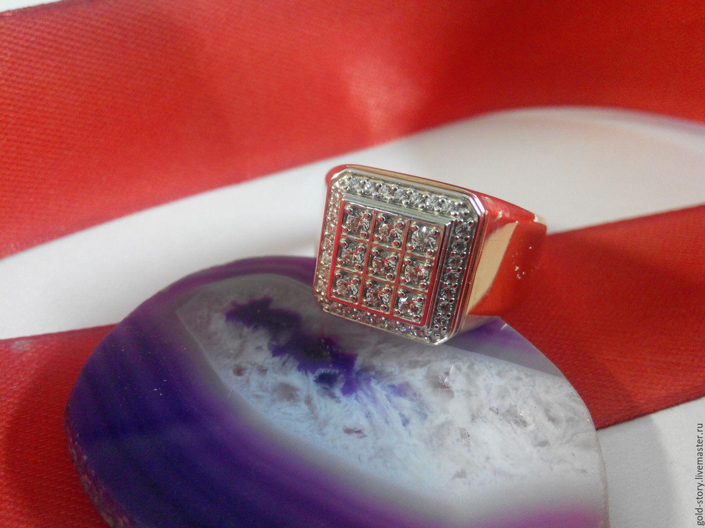 Украшения для мужчин, ручной работы. Ярмарка Мастеров - ручная работа.  Купить Золотой перстень ... 4d10ddad0ff