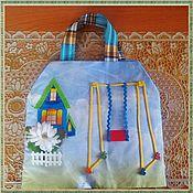 Куклы и игрушки ручной работы. Ярмарка Мастеров - ручная работа Кукольный дом-сумка. Handmade.