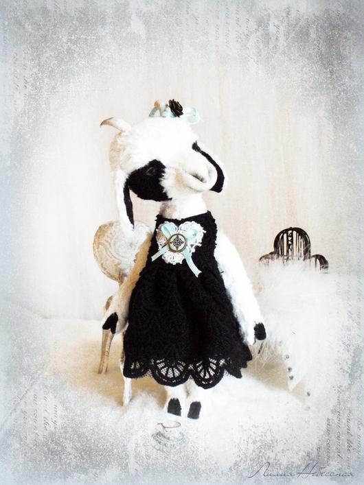 Авторская козочка-Тедди, Одри Осень 2014 Автор: Лилия Небессная