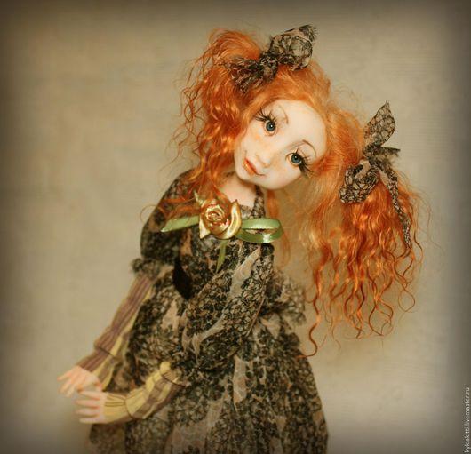 Коллекционные куклы ручной работы. Ярмарка Мастеров - ручная работа. Купить Соничка. Handmade. Комбинированный, фимо