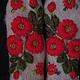 Варежки, митенки, перчатки ручной работы. Варежки с вышивкой   Ноготки. Ludmila Batulina (milenaleoneart). Ярмарка Мастеров. Валяние из шерсти
