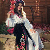 handmade. Livemaster - original item Costume in the style of ethno-chic