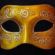 """Одежда ручной работы. Ярмарка Мастеров - ручная работа маска """"зимнее солнце"""" карнавальная. Handmade."""