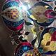"""Элементы интерьера ручной работы. Столик """" Восточная сказка"""". ArtFlat. Ярмарка Мастеров. Роспись по стеклу, восточный орнамент"""
