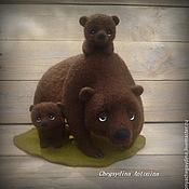 Куклы и игрушки ручной работы. Ярмарка Мастеров - ручная работа Медвежье счастье. Handmade.