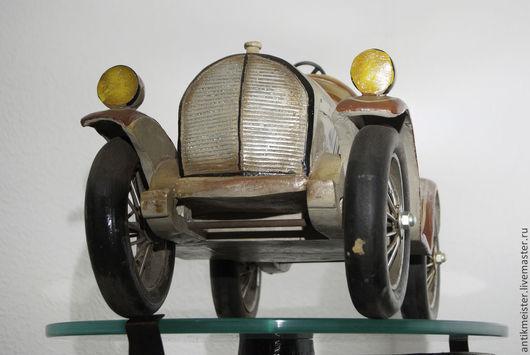 Винтажные сувениры. Ярмарка Мастеров - ручная работа. Купить Авто «Ретро Спорт» модель старой спортивной автомашины раритет. Handmade.