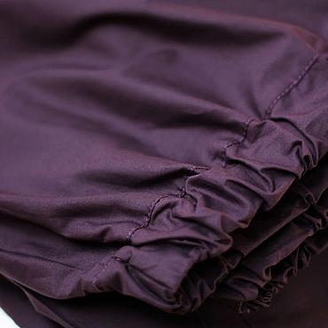 Clothing handmade. Livemaster - original item Copy of Harem pants with pockets, Mustard Cotton wide-leg Trousers. Handmade.