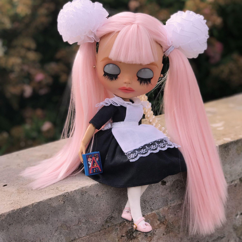 Коллекционные куклы ручной работы. Ярмарка Мастеров - ручная работа. Купить Кукла Blythe блайз -куколка школьница Kristina. Handmade.