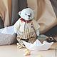 """Мишки Тедди ручной работы. Ярмарка Мастеров - ручная работа. Купить Тедди мишка """" Леня - смотритель маяка"""". Handmade."""