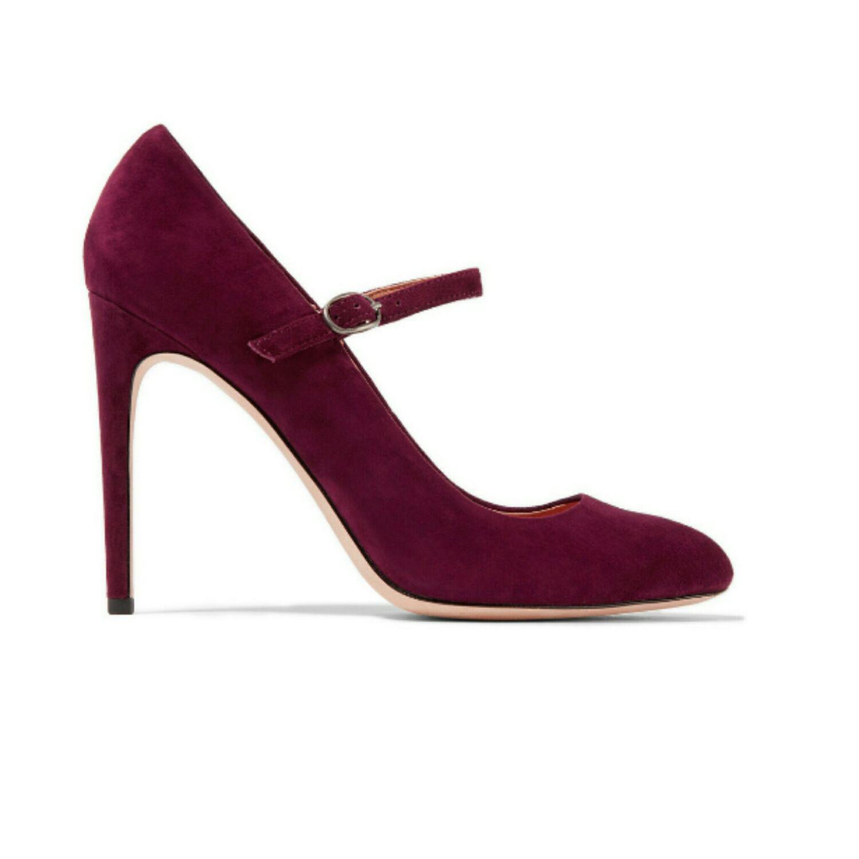 Обувь ручной работы. Ярмарка Мастеров - ручная работа. Купить Туфли в цвете  марсала. cffd4adc8e1