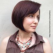 Украшения handmade. Livemaster - original item Multi-row necklace is a Little CRAZY. Handmade.
