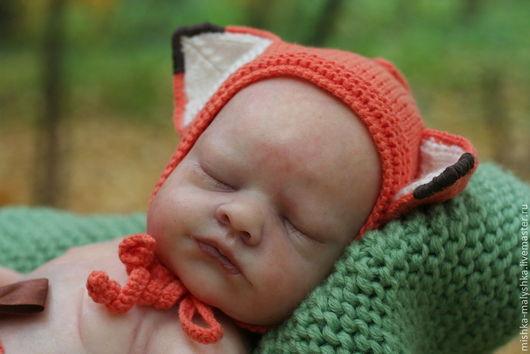 """Для новорожденных, ручной работы. Ярмарка Мастеров - ручная работа. Купить Комплект """"Baby fox"""" для студийной съёмки.. Handmade. Рыжий"""