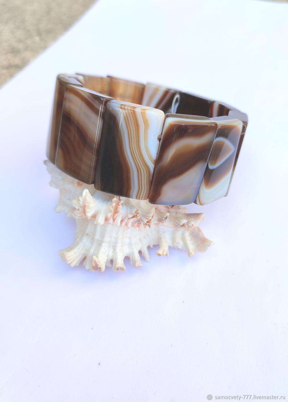 Beautiful bracelet'Crimean agate', Bead bracelet, Feodosia,  Фото №1