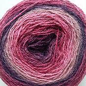 Пряжа ручной работы. Ярмарка Мастеров - ручная работа Кауни Pink-lila 8/1, 8/2. Handmade.