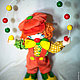Куклы и игрушки ручной работы. Клоун Милашка!!!. Любовь Токарева (Tokareva1987). Ярмарка Мастеров. Подарок девушке, клоуны, хлопок американский