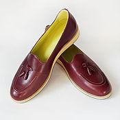 Обувь ручной работы. Ярмарка Мастеров - ручная работа Лоферы Mr.Jonathan. Handmade.