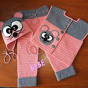 Комплекты одежды ручной работы. Ярмарка Мастеров - ручная работа Комплект для девочки. Handmade.