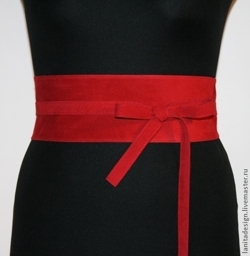 """Пояса, ремни ручной работы. Пояс-кушак """"Red 9"""". Lanita Design. Ярмарка Мастеров."""