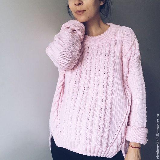 Вязание ручной работы. Ярмарка Мастеров - ручная работа. Купить схема  свитера ReasonToBeaGirl. Handmade. Схема, однотонный
