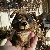"""Куклы и игрушки ручной работы. Ярмарка Мастеров - ручная работа """"Он не лает,не кусается!"""". Handmade."""