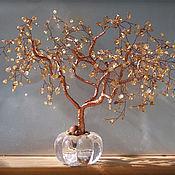 Подарки к праздникам ручной работы. Ярмарка Мастеров - ручная работа Дерево счастья Медное. Handmade.