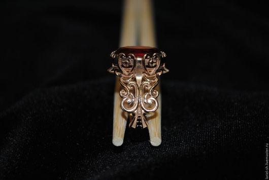 Кольца ручной работы. Ярмарка Мастеров - ручная работа. Купить кольцо винтаж. Handmade. Лимонный, винтажные украшения, кольцо, фианит