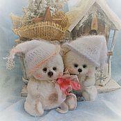 Куклы и игрушки ручной работы. Ярмарка Мастеров - ручная работа Снежные комочки. Handmade.